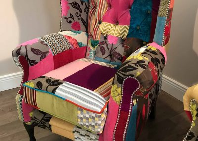 London Patchwork Chair