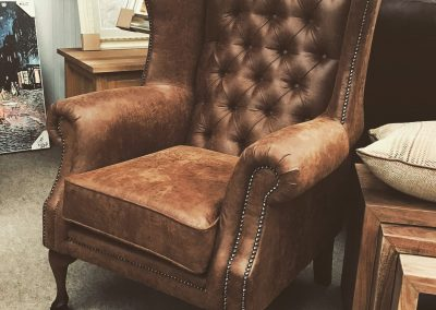 London Chair Leather